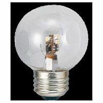 LDG1LG503_G50ボール形LEDランプ E26 電球色相当 クリア_YAZAWA(ヤザワコーポレーション)