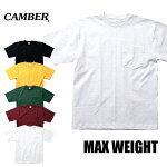 『CAMBER/キャンバー』CAM302MAX-WEIGHTPOCKETS/STEE/マックスウェイトポケット半袖シャツ-全6色-アメカジ/ストリート/ワーク/半袖/マックスウェイト/ヘビー/コットン/USA/ポケット/アメリカ製[CAM302]