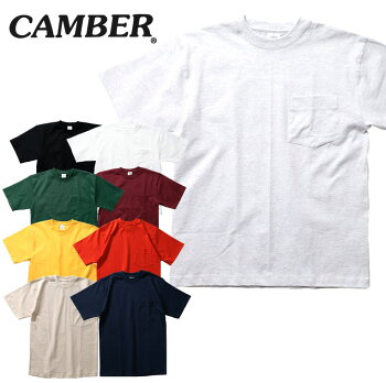 『CAMBER/キャンバー』CAM302MAX-WEIGHTPOCKETS/STEE/マックスウェイトポケット半袖シャツ-全9色-アメカジ/ストリート/ワーク/半袖/マックスウェイト/ヘビー/コットン/USA/ポケット/アメリカ製[CAM302]