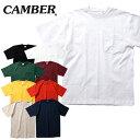 【期間限定特別価格】『CAMBER/キャンバー』CAM302 MAX-WEIGHT POCKET S/S TEE/ マックスウェイト ポケット半袖シャツ -全9色-アメカジ…