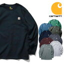 【TIME SALE!!】CARHARTT/カーハート crhtt-k126 LONG SLEEVE WORKWEAR POCKET T-SHIRT / ワークウェア ポケット長袖T…