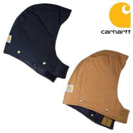 『carhartt/カーハート』c_102368 /ARCTIC QUILT LINED DUCK HOOD/アークティック キルト ラインド ダックフード「帽子」「別売り」「後付け」「ブラウン」「ブラック」「ダックコート」「メンズ」「レディース」 -全2色-[c-102368]
