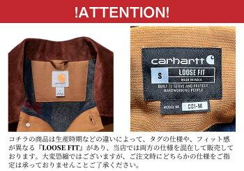 『CARHARTT/カーハート』crhtt103825DUCKCHORECOAT/BLANKETLINED/ダックチョアコートブランケットライナー-全2色-ダック/キルティング/ブランケット/C001[crhtt103825]