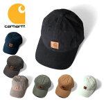 『CARHARTT/カーハート』crhtt-100289ODESSACAP/オデッサキャップ-全7色-アメリカ/1889/ロゴ/レザー/帽子/マジックテープ/刺繍/[CRHTT-100289]
