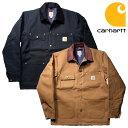 『CARHARTT/カーハート』 crhtt-c001 DUCK CHORE COAT BLANKET LINED / ダックチョアコート ブランケット ライナー -…