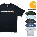【送料無料】【TIME SALE!!】『CARHARTT/カーハート』crhtt-k195 PRINT LOGO TEE SHIRTS -Original Fit- / プリントロゴ半袖Teeシャツ …