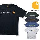 『CARHARTT/カーハート』crhtt-k195 PRINT LOGO TEE SHIRTS -Original Fit- / プリントロゴ半袖Teeシャツ -全5色-アメリカ/1889/ロゴTe…