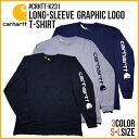 『CARHARTT/カーハート』 crhtt-k231 LONG SLEEVE GRAPHIC LOGO T-SHIRT / ロングスリーブ グラフィックロゴ Tシャツ -全3色- 「カジュ…