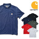 『CARHARTT/カーハート』crhtt-k570 CONTRACTOT'S WOTK POCKET POLO SHIRT / コントラクターワークポケットポロシャツ -全6色-/RELAXED…