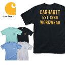 『CARHARTT/カーハート』 CRHTT104176 HEAVYWEIGHT S/S POCKET WORKWEAR GRAPHIC T-SHIRT / ヘビーウェイトポケット半袖プリントTシャ…