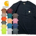 ビッグtシャツ 『CARHARTT/カーハート』crhtt87 POCKET TEE SHIRTS -Original Fit- / ポケット半袖Teeシャツ -全15色-「アメリカ」「18…