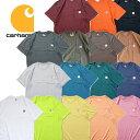 『CARHARTT/カーハート』crhtt87 POCKET TEE SHIRTS -Original Fit- / ポケット半袖Teeシャツ -全16色-「アメリカ」「1889」「ポケTee」「ブラウンダック」「アメカジ」「ワーク」「ダック」「S/S」「ワッペン」[CRHTT87]