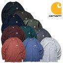 『CARHARTT/カーハート』 crhtt-k126 LONG SLEEVE WORKWEAR POCKET T-SHIRT / ワークウェア ポケット長袖Tシャツ -全10色- カジュアル …