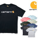 『CARHARTT/カーハート』crhtt-k195 PRINT LOGO TEE SHIRTS -Original Fit- / プリントロゴ半袖Teeシャツ -全8色-アメリカ/1889/ロゴTe…