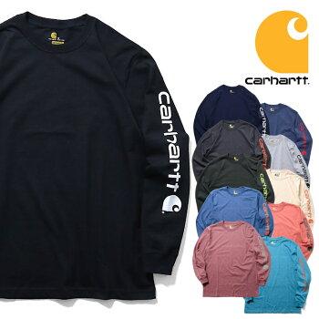 『CARHARTT/カーハート』crhtt-k231LONGSLEEVEGRAPHICLOGOT-SHIRT/長袖グラフィックロゴTシャツ-全11色-カジュアル/プリント/ロゴ/リブ/ストリート/ORIGINALFIT/ビッグサイズ[CRHTT-k231]