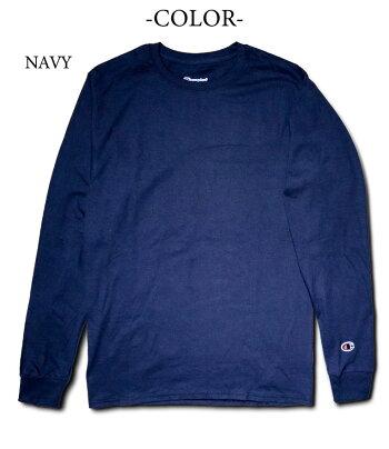 『Champion/チャンピオン』a-c8cc5.2ozLONGSLEEVET-SHIRT/5.2オンス長袖Tシャツ-全5色-コットン/ロゴ/シンプル/ロンT/tee/[a-c8cc]