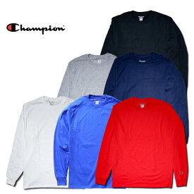 Champion チャンピオン Tシャツ a-cc8c 5.2oz LONG SLEEVE T-SHIRT / 5.2オンス 長袖 Tシャツ -全5色- コットン ロゴ シンプル ロンT tee [a-cc8c]