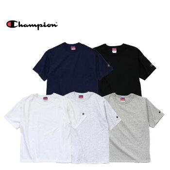 『Champion/チャンピオン』a-t21027oz.HERITAGEJERSEYT-SHIRT/7オンスヘリテージジャージーTシャツ-全5色-コットン/ロゴ/シンプル/半袖/tee/バインダーネック/7oz/[a-t2102]