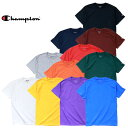 Champion チャンピオン Tシャツ a-t525c 6oz. SHORT SLEEVE T-SHIRT / 6オンス ショート スリーブ Tシャツ -全11色-コットン ロゴ シン…