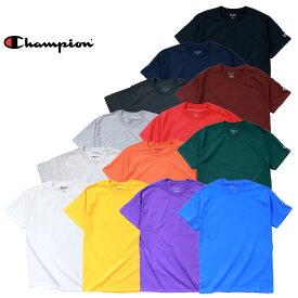ビッグtシャツ Champion チャンピオン Tシャツ a-t525c 6oz. SHORT SLEEVE T-SHIRT / 6オンス ショート スリーブ Tシャツ -全13色-コットン ロゴ シンプル 半袖 大きいサイズ ビック tee 6oz[a-t525c]