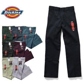『DICKIES/ディッキーズ』DK874 MEN'S 8.5oz. TWILL WORK PANTS / メンズ8.5オンスツイルワークパンツ -全8色- 874 / 代表作 / タグ / チケット / ジッパー / ロゴ / [DK874]