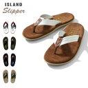 『ISLAND SLIPPER/アイランドスリッパ』 is-pt203ml MIXED LEATHER SANDAL / ミックス レザーサンダル -全5色- 革 / レザー / スウェー…