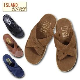 『ISLAND SLIPPER/アイランドスリッパ』is-pt223 ISLAND SLIPPER SLIDE/ アイランドスリッパ スライド -全4色-/革/スウェード/ハワイ/アメリカ/HAWAII/USA/クロス/サンダル[is-pt223]