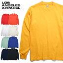 『LOS ANGELES APPAREL / ロサンゼルスアパレル』 L-1807GD L/S Garment Dye T-Shirt 6.5oz / ロングスリーブ ガーメント ダイ Tシャツ…