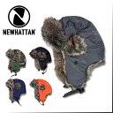 『NEWHATTAN/ニューハッタン』nhn6007 TROOPER HAT / トルーパーハット -全5色- 帽子/コットン/ポリエステル/ミリタリー/MILITARY/ボア…