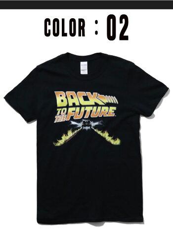 『BACKTOTHEFUTURETEE/バック・トゥ・ザ・フューチャーTシャツ』onh50-全4色-/映画/ムービー/BTF/デロリアン/[ONH50]