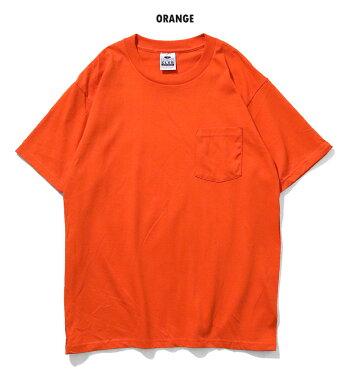 PROCLUBプロクラブpc104HEAVYWEIGHTSHORTSLEEVEPOCKETTEE/ヘビーウェイト半袖Tシャツ-全4色-コットンシンプル無地リブポケット[pc104]