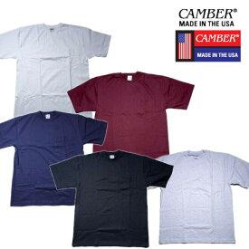 『CAMBER/キャンバー』CAM302 MAX-WEIGHT POCKET S/S TEE/ マックスウェイト ポケット半袖シャツ -全5色-「アメカジ」「ストリート」「ワーク」「半袖」「マックスウェイト」「ヘビー」「コットン」「USA」「ポケット」「アメリカ製」[CAM302]
