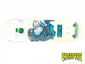 CREATURE スケボー デッキ 8.375インチ 【 MARTINEZ CHAIN FINK 8.375 X 32.0 】 スケートボード クリーチャー SKATEBOARD DECK