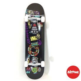 ALMOST オルモスト スケートボード キッズコンプリート セット7.25インチ 【AZTECIAN-BLACK MID 7.25 】