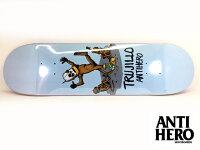 ANTIHEROスケートボードデッキ8.5インチ【ANTIHEROTRUJILLOTHEBLINDLEADINGTHEBLINDERPRO8.5x32.25】スケボーアンチヒーローアンタイヒーローSKATEBOARD