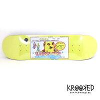 KROOKEDスケートボードデッキ【KROOKEDCROMERPURFECKT8.06インチ】スケボークルキッドSKATEBOARDDECK