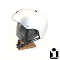 スケートボード用ヘルメットINDUSTRIAL【HELMETSILVER】