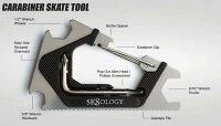 SK8OLOGYCARABINERTOOL2.0MeatalBlackスケートオロジーカラビナスケートツール2.0スケートレンチ工具