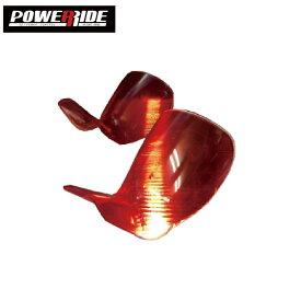 POWER RIDE BASIC HARD ClearRed ハードフレックス パワーライド フィット ブーツタン