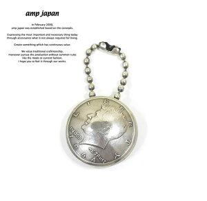 amp japan アンプジャパン 15AO-825 Kennedy Coin Key HolderAMP JAPAN Brass 真鍮 ケネディ コイン キーホルダー メンズ レディース