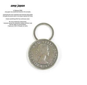 amp japan アンプジャパン 15AO-826 Elizabeth Coin Key HolderAMP JAPAN Brass 真鍮 エリザベス コイン キーホルダー メンズ レディース【あす楽対応】