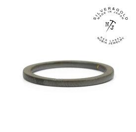 "NURA-47/BK ""FAT""NUBIA/ヌビア/Black ring/チタンリングメンズレディースアクセサリーPinky ring/ピンキーリング【あす楽対応】"