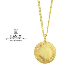 HARIM ハリム HRP114GP Stairway to Heaven Coin PendantGold ゴールド Silver シルバー コイン ネックレス レッド ツェッペリン メンズ レディース