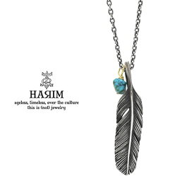 HARIM ハリム HRP123 OX Feather Necklace /S 【RIGHT】Silver シルバー フェザー ネックレス メンズ レディース