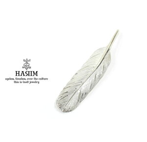 HARIM ハリム HRT006WH Feather Pendant /M 【RIGHT】Silver シルバー フェザー ペンダント トップ メンズ レディース