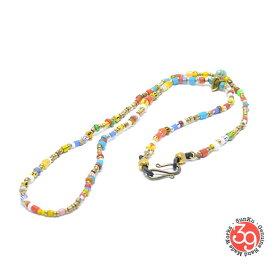Sunku 39 サンクSK-064-MIX White Heart Eyewear Holder アンティークビーズブレスレット Bracelet ブレスレットSilver925 シルバー BRASS 真鍮アンティーク/ターコイズ Turquoiseメンズ レディース