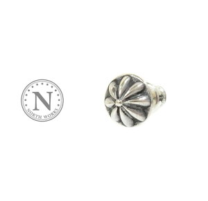 NORTH WORKS ノースワークス P-021 Concho Pierce Silver シルバー コンチョ ピアス