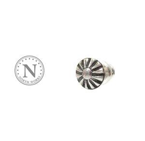 NORTH WORKS ノースワークス P-023 Concho Pierce Silver シルバー コンチョ ピアス