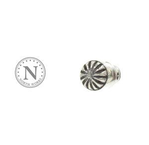 NORTH WORKS ノースワークス P-025 Concho Pierce Silver シルバー コンチョ ピアス