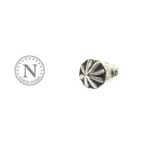 NORTH WORKS ノースワークス P-026 Concho Pierce Silver シルバー コンチョ ピアス